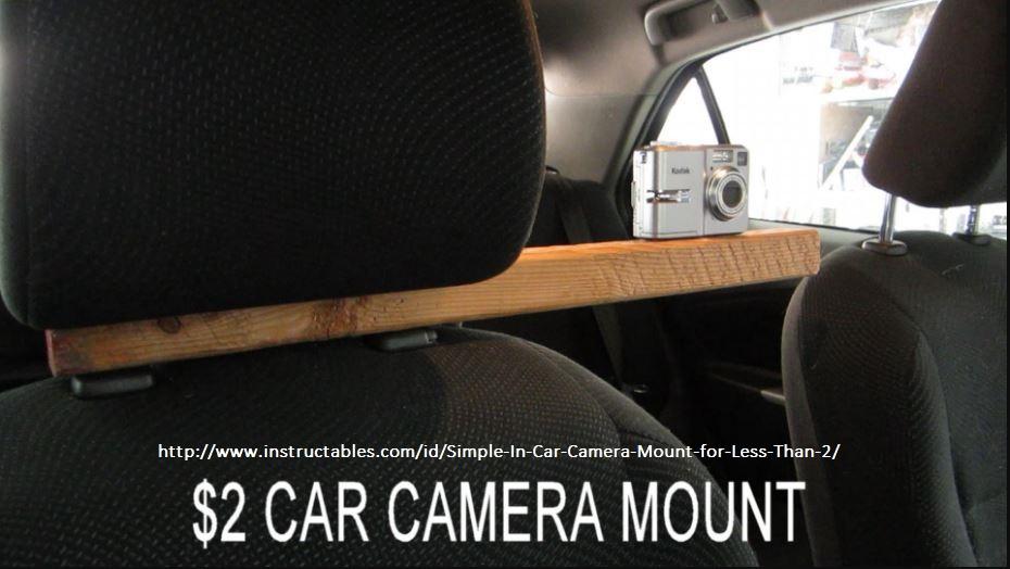 Cabrall-cheap effective headrest mount