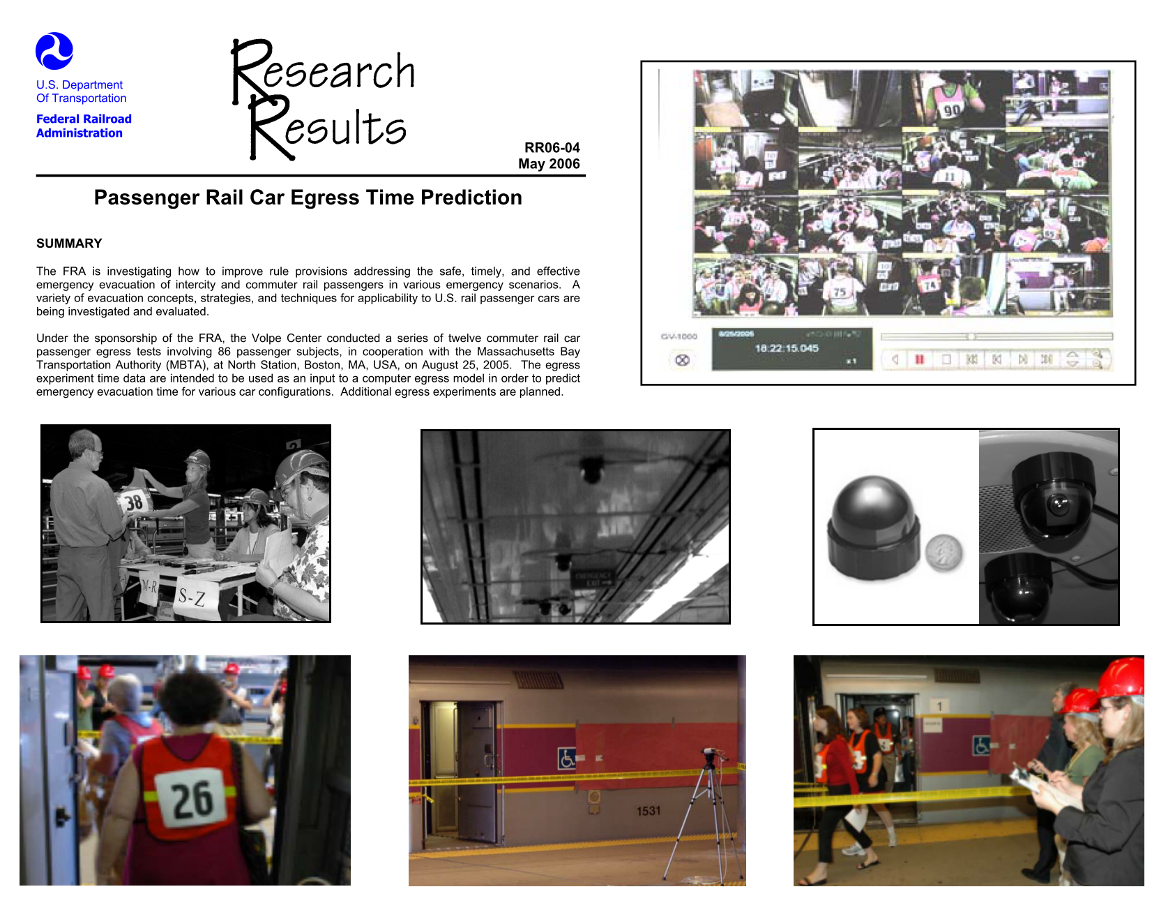 Cabrall-egress research results