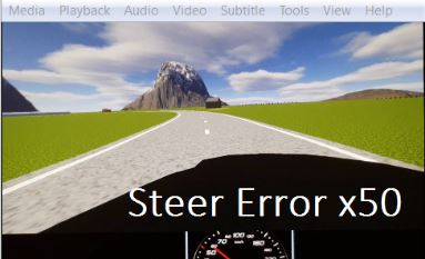 Acceptance Ratings of Remote Driving Induced Steering Error