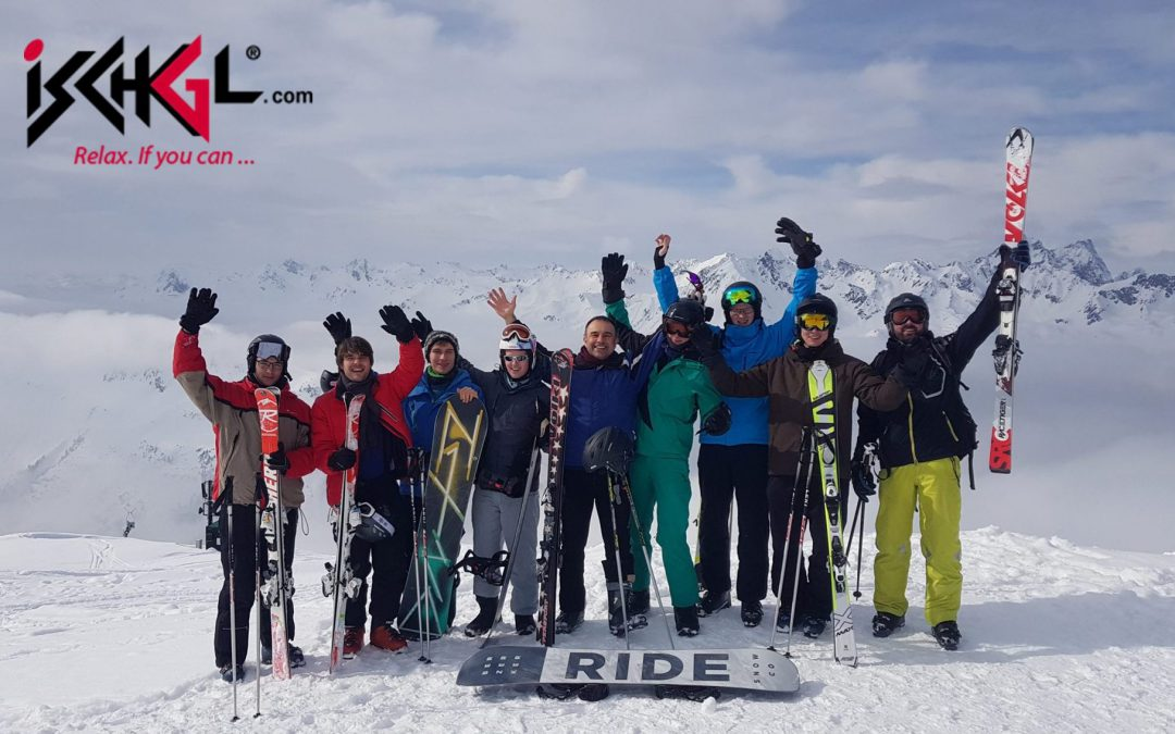 Skiing & snowboarding with PhD students