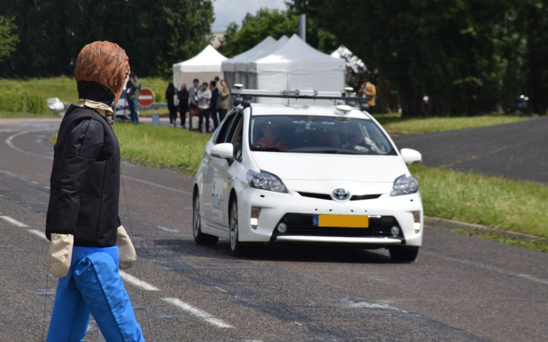 TU Delft Vehicle Demo at the IV Conference 2019