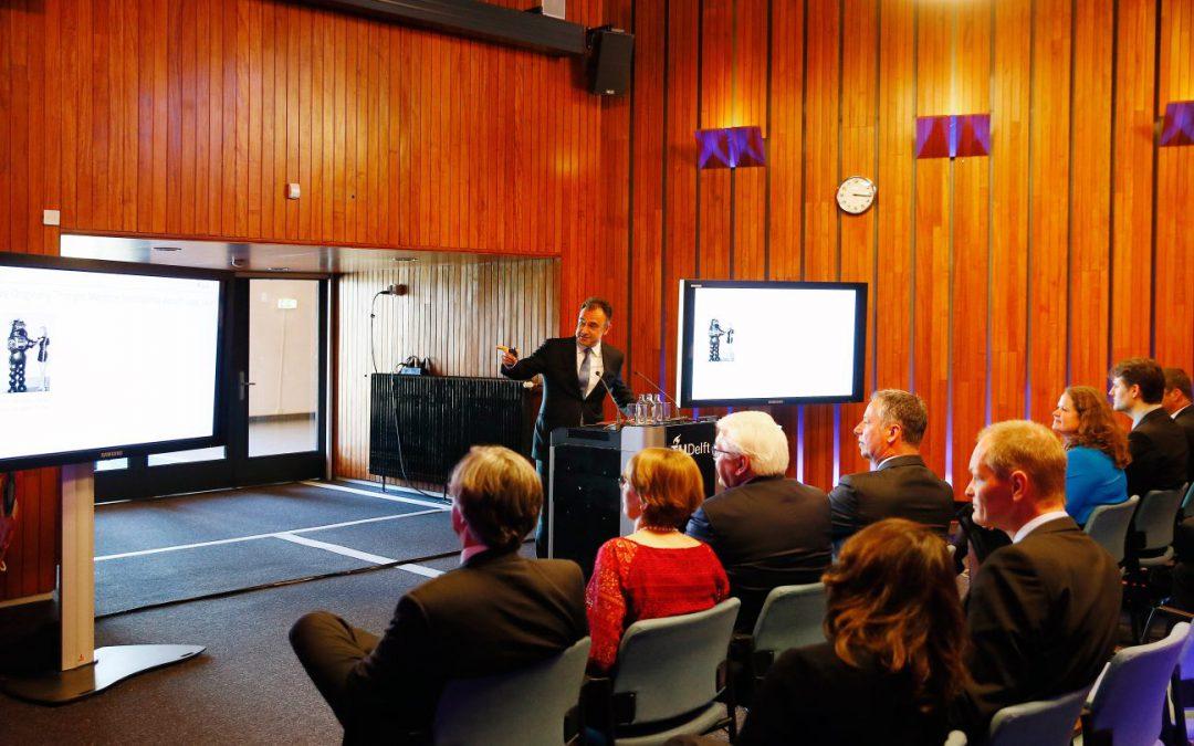 Presentation for German President Steinmeier